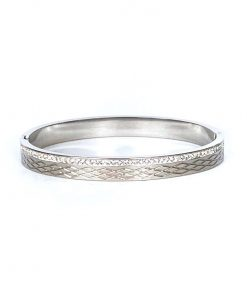 Bangle Zilver Diamant