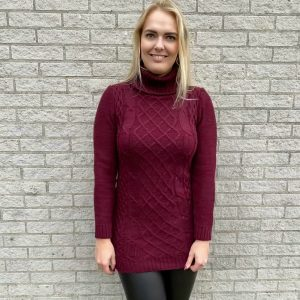 Sweater bordeaux